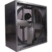 "48"" Belt Drive Agricultural Box Fan 230V 1 HP Motor"