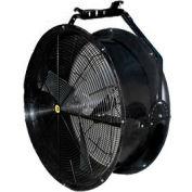 """J&D 36"""" Black Poly Chiller Drum Fan With Bracket VPRF36 1/2 HP 10120 CFM"""