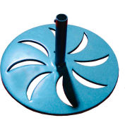 Leisure Craft Outdoor Umbrella Base - Blue