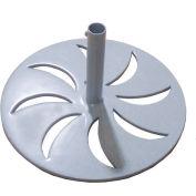 Leisure Craft Outdoor Umbrella Base - Gray