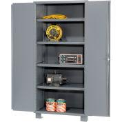 """Jamco Heavy Duty Storage Cabinet DS248 - Welded 14 ga. 48""""W x 24""""D x 78""""H"""