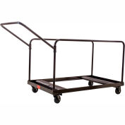 """Table Cart For 48"""" and 60"""" Round Folding Tables Holds 10"""