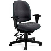 Global™ Multi-Tilter Office Chair - Fabric - Low Back - Gray - Granada Series
