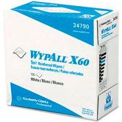 "WypAll® X60 Wipers in Pop-Up® Box - 9-1/8""w x 16-13/16""d - KIM34790BX"