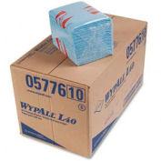 """WypAll® L40 Quarterfold Wipers - 12-1/2""""w x 14-3/4""""d - KIM05776"""