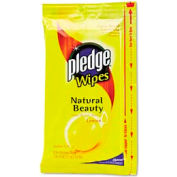 "Pledge Lemon Wet Wipes 7"" X 10"", 24 Wipes/Pack - DRACB728072PK"