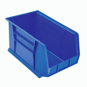 "Akro-Mils AkroBin® Plastic Stacking Bin 30260 - 11""W x 18""D x 10""H, Blue - Pkg Qty 6"