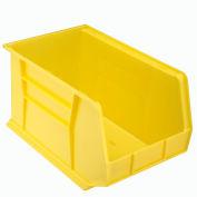 "Akro-Mils AkroBin® Plastic Stacking Bin 30260 - 11""W x 18""D x 10""H, Yellow - Pkg Qty 6"