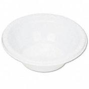 Plastic Dinnerware, Utility Bowls, 5 oz., White, 125 per Pack