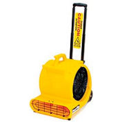Powr-Flite® 1/2 Hp Floor Dryer With Handle And Wheels Yellow