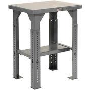 30 X 24 Steel Top Adjustable Leg Work Table