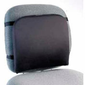 "Memory Foam Backrest, 13-1/4""W x 1-3/4""D x 14-1/4""H, Black"