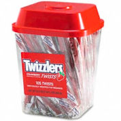 Twizzlers Licorice Sticks, Strawberry, 2 Lbs., 105/Canister