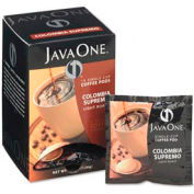 Java One® Colombian Supremo Coffee Pods, Regular, Single Cup, 14 Pods/Box