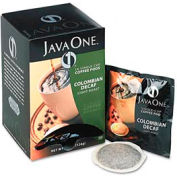 Java One® Colombian Coffee Pods, Decaffeinated, Single Cup, 14 Pods/Box