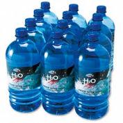 100% Pure Natural Bottled Spring Water Bottles, 1 Liter, 12/Carton