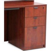 Regency 3 Drawer Pedestal in Cherry - Manager Series