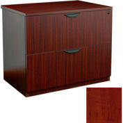 2 Drawer Lateral File in Cherry - Manager Series