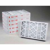 """Purolator® 5267502053 Hi-E® 40 Pleated Filter 16""""W x 25""""H x 4""""D - Pkg Qty 6"""