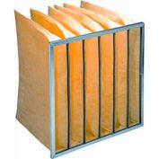 """Purolator® 5276491535 Serva-Pak® Fiberglass Bag Filter 19""""W x 24""""H x 12""""D - Pkg Qty 8"""