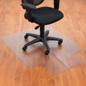 "Aleco® 36""W x 48""L Office Chair Mat w/ 20"" x 10"" Lip for Hard Floor"