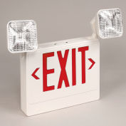 TCPI 20784 LED Emergency Exit Sign - Red