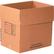 Tall Deluxe Packing Box 6.0 Cu. Ft. 200lb. Test/ECT-32 - 10 Pack