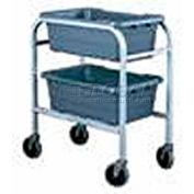 "All Welded Aluminum 2 Lug Cart, 28-1/4""L x 15-3/4""W x 33""H"