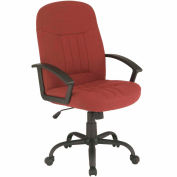 Executive Chair, Fabric - Burgundy