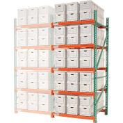 "Record Storage Rack Add-On Letter 48""W x 48""D x 120""H"