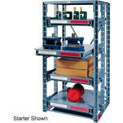 Roll Out Extra Heavy Duty Shelving Add-On 3 Shelf 36x36x72