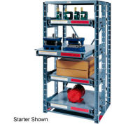 Roll Out Extra Heavy Duty Shelving Add-On 4 Shelf 48x36x85