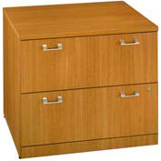 "Bush Quantum™ 36"" Lateral File - Modern Cherry"
