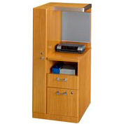 "Bush Quantum™ 24"" Left Storage Tower - Modern Cherry"