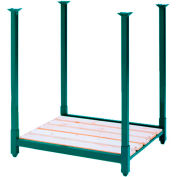 "Portable Stack Rack 48""W X 48""D X 36""H"