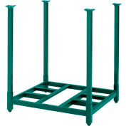 "Portable Stack Rack 48""W X 48""D X 48""H"