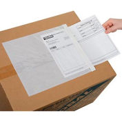 "Clear Face Document Envelopes 10"" x 12"" - 500 Pack"