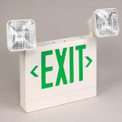 TCPI 20785 LED Emergency Exit Sign - Green