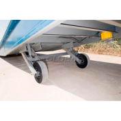 Optional Pneumatic Wheel Kit YRAPNEUX for Bluff® Steel Yard Ramp Forklift Dock Ramp