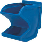 "Akro Bins Gravity Plastic Hopper Bin 31625 - 11""W x 18""D x 19-1/2""H Blue"