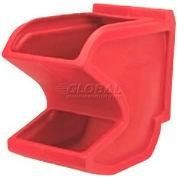 "Akro Bins Gravity Plastic Hopper Bin 31625 - 11""W x 18""D x 19-1/2""H Red"