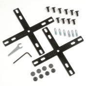 Interion® 4 Way Connector Kit For Office Partitions