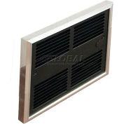 TPI Low Profile Commercial Fan Forced Wall Heater HF4475T2RP - 750/562W 240/208V Silver