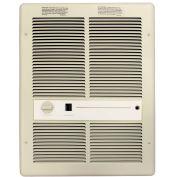 TPI Fan Forced Wall Heater With Summer Fan Switch F3317TSRP - 4800W 208V Ivory