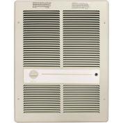 TPI Fan Forced Wall Heater H3317TRP - 4800W 240V Ivory