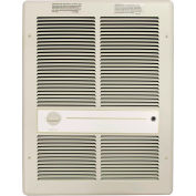 TPI Fan Forced Wall Heaters G3316TRP - 4000W 277V Ivory