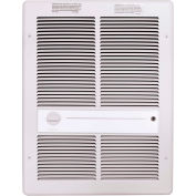 TPI Fan Forced Wall Heater G3314TRPW - 2000W 277V White