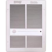 TPI Fan Forced Wall Heaters F3316TRPW - 4000W 208V White