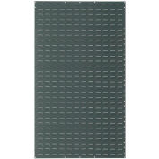 Louvered Wall Panel Without Bins 36x61 Gray