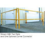 """Square Steel Guard Rail 42""""H X 120""""L"""